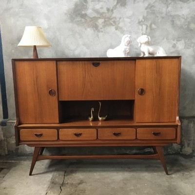 Cabinet from the fifties by Louis van Teeffelen for Wébé