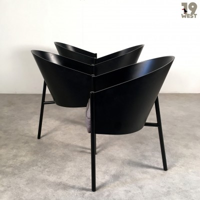 Set of 4 Costes dinner chairs from the eighties by unknown designer for Driade