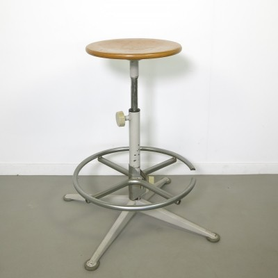 Stool from the sixties by Friso Kramer for Ahrend de Cirkel