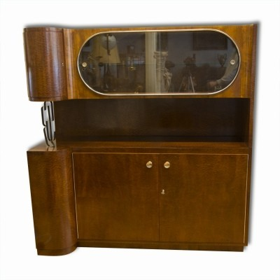 Cabinet from the thirties by unknown designer for Slezak
