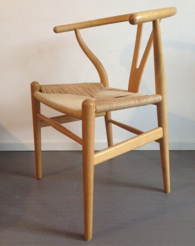 Wishbone dinner chair by Hans Wegner for Carl Hansen & Son, 1960s