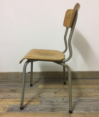 4 dinner chairs from the seventies by unknown designer for unknown producer
