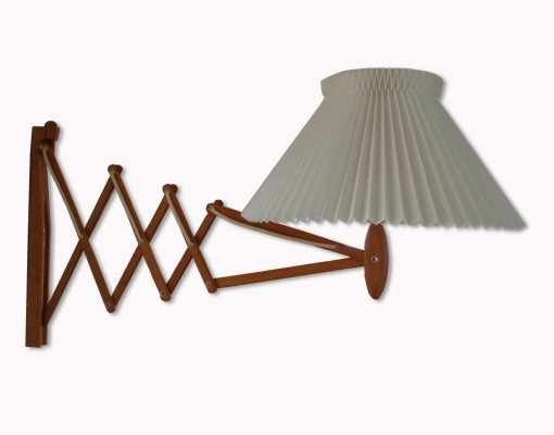 332 Sax wall lamp by Erik Hansen for Le Klint, 1950s