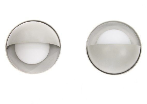Set of 2 wall lamps from the sixties by unknown designer for Dijkstra Lampen
