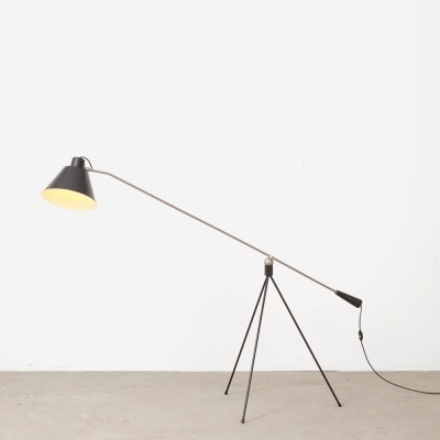 Magneto floor lamp by H. Fillekes for Artiforte, 1950s