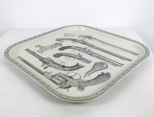Tray from the sixties by Piero Fornasetti for unknown producer