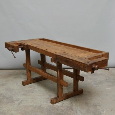Workbench from the thirties by unknown designer for unknown producer