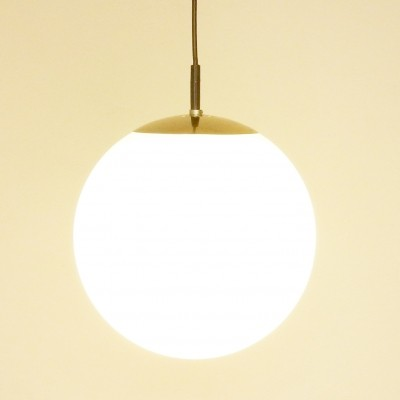 6 Ochtendnevel/Morning Dew hanging lamps from the seventies by unknown designer for Raak Amsterdam