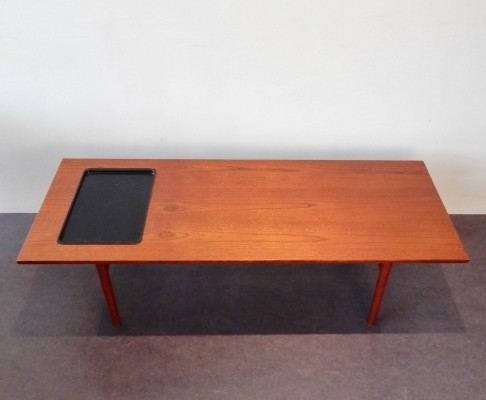 Coffee table by Grete Jalk for P. Jeppesen Møbelfabrik, 1960s