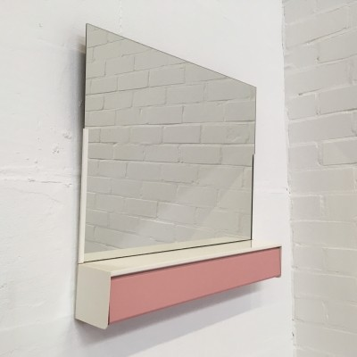 Mirror from the fifties by unknown designer for unknown producer