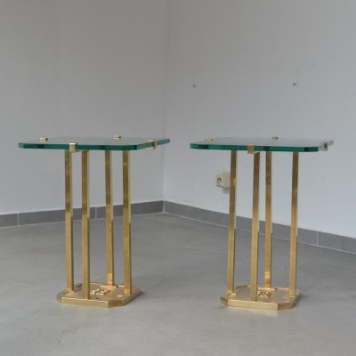 2 side tables from the seventies by Peter Ghyczy for Ghyczy