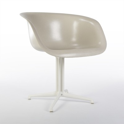 Original Eames La Fonda Arm Shell Chair on original base