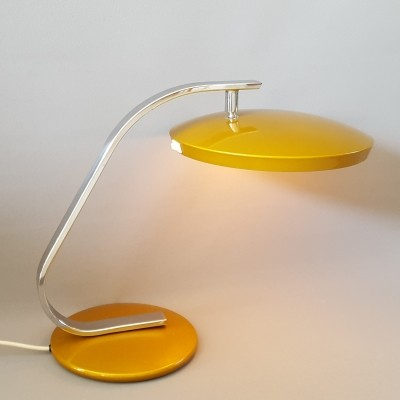 Madrid desk light from the sixties by Fase (Diffuser is missing)