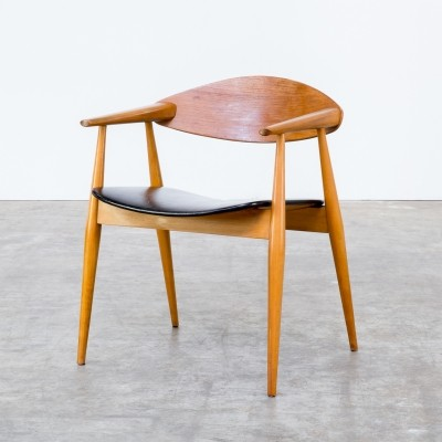 Dinner chair from the seventies by unknown designer for unknown producer