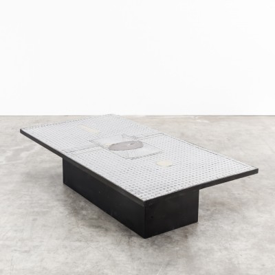Coffee table from the seventies by Raf Verjans for unknown producer