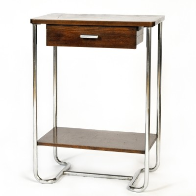 Side table from the thirties by unknown designer for Mücke Melder