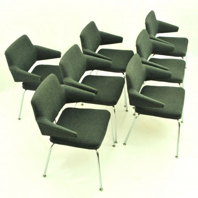 Set of 6 dinner chairs from the seventies by unknown designer for Duba
