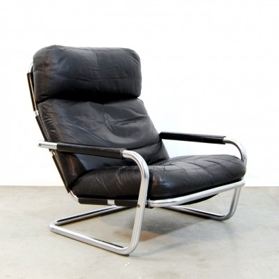 Oberman n601 lounge chair from the seventies by Jan des Bouvrie for Gelderland