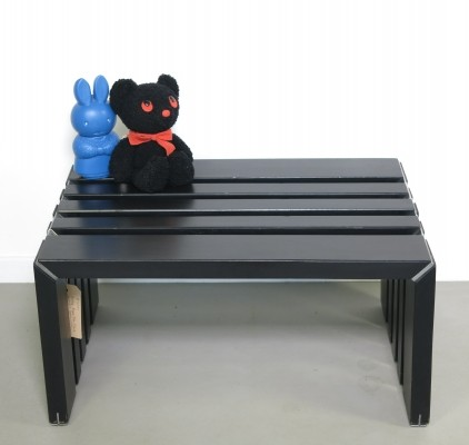 Passe Par Tout bench from the seventies by Walter Antonis for Arspect