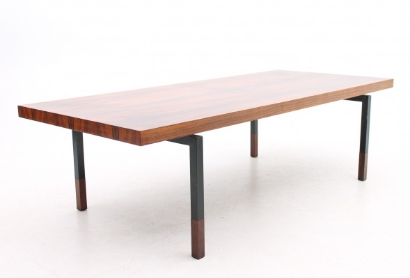 X-large model coffee table from the sixties by Henry W. Klein for Bramin