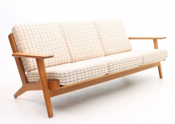 GE 290/3 sofa from the fifties by Hans Wegner for Getama