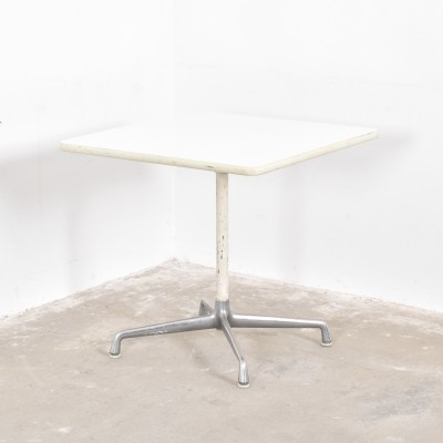 2 x dining table by Charles & Ray Eames for Herman Miller, 1950s
