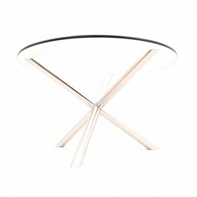 French tripod dining table by Roche Bobois