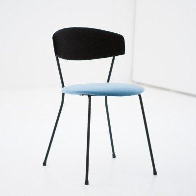 Set of 6 CN1 dinner chairs from the fifties by V. Chiaia & M. Napolitano for Arflex
