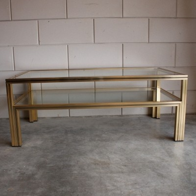 Coffee table from the eighties by Pierre Vandel for Pierre Vandel