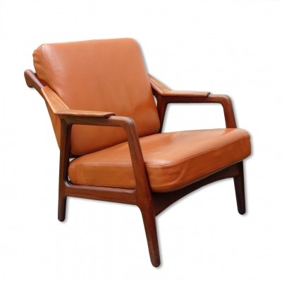 Lounge chair from the fifties by H. Brockmann Petersen for Randers Mobelfabric Denmark