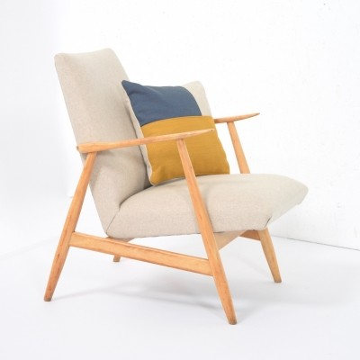 Petit reupholstered 1950's armchair