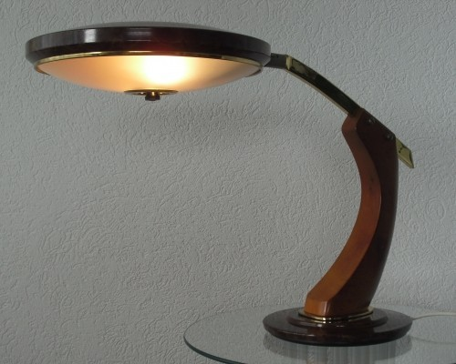 President desk lamp from the sixties by unknown designer for Fase