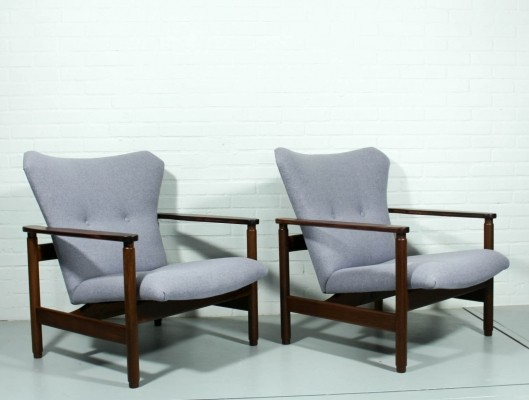 Set of 2 lounge chairs from the sixties by unknown designer for Topform