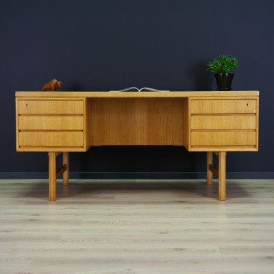 Writing desk from the seventies by unknown designer for Omann Jun