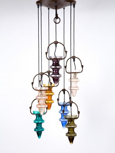 Stalactite hanging lamp from the fifties by Nanny Still for Raak Amsterdam