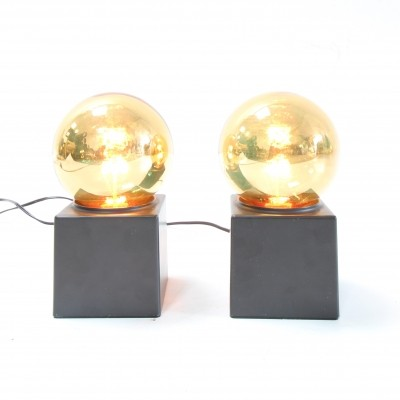 Set of 2 desk lamps from the seventies by unknown designer for Philips