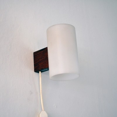 Wall lamp by Uno & Östen Kristiansson for Luxus Vittsjö, 1960s