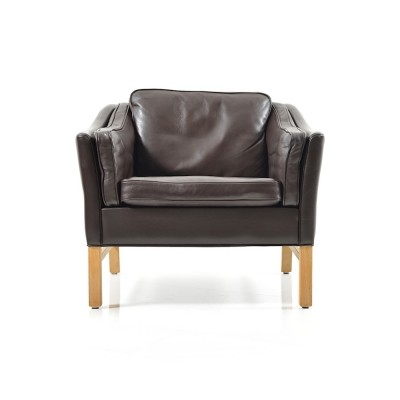 Leather Lounge Chair by Georg Thams Denmark