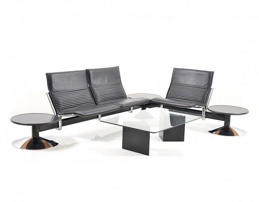 Bench & Table 'Basis' by Klaus Franck & Werner Sauer for Wilkhahn