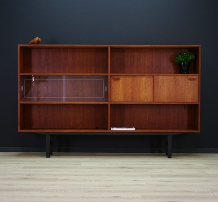 High sideboard from the seventies by unknown designer for Clausen & Søn