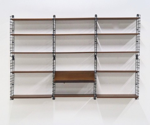 Wall unit from the fifties by A. Dekker for Tomado Holland