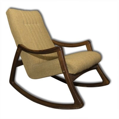 Rocking chair from the seventies by unknown designer for Ton Czechoslovakia