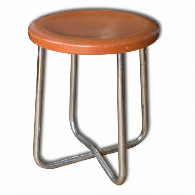 Stool from the thirties by unknown designer for Gottwald Hynek
