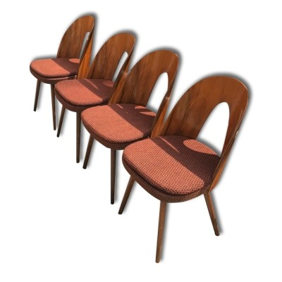 Set of 4 dinner chairs from the sixties by Antonin Šuman for unknown producer