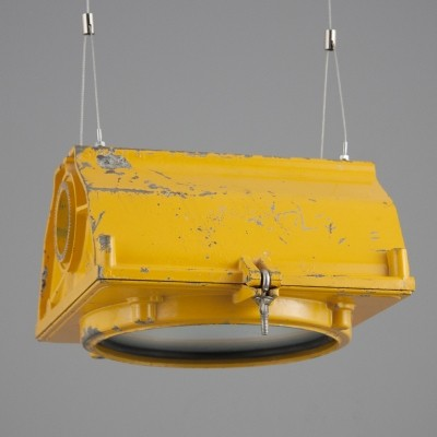 2 hanging lamps from the fifties by unknown designer for LFE