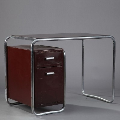 Writing desk from the thirties by Marcel Breuer for Thonet