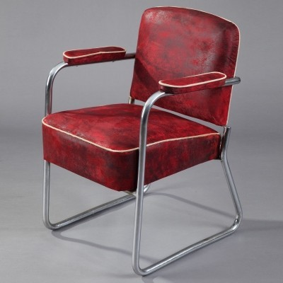 Arm chair from the thirties by Marcel Breuer for Thonet
