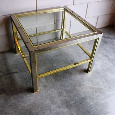 Side table from the seventies by Romeo Rega for unknown producer