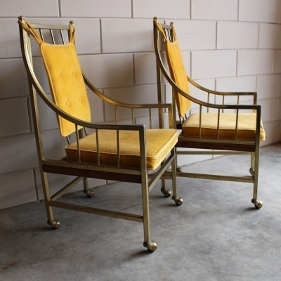 Pair of vintage arm chairs, 1960s
