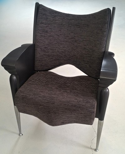 Set of 3 Maletak arm chairs by Borek Sipek for Maletti, 1990s